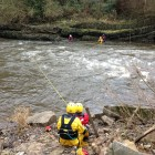 SRT training at Jackfield on the River Severn Dec 2013