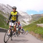 Tour of the Dragon participant, James Griffiths, competing in Dreilander Giro, 2012