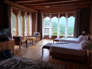 Luxury hotel,  Bhutan
