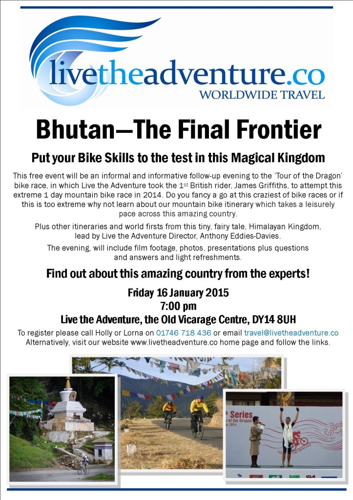 Bhutan - The Final Frontier Poster