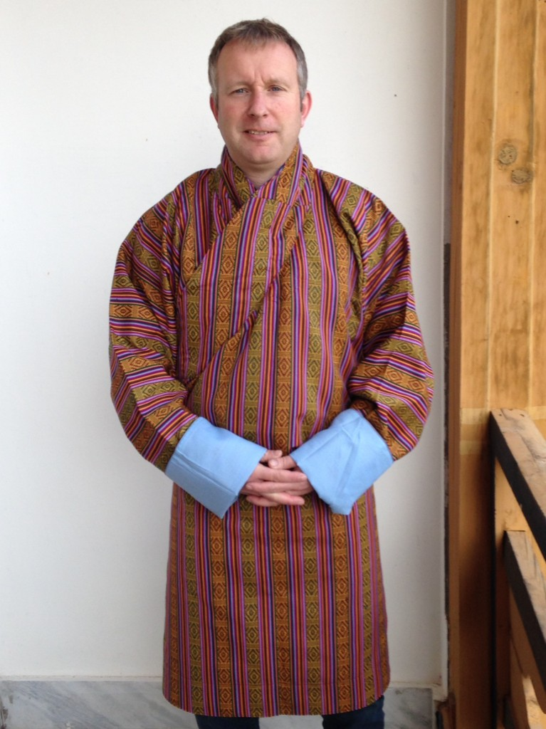 National Bhutanese Dress - The Gho!