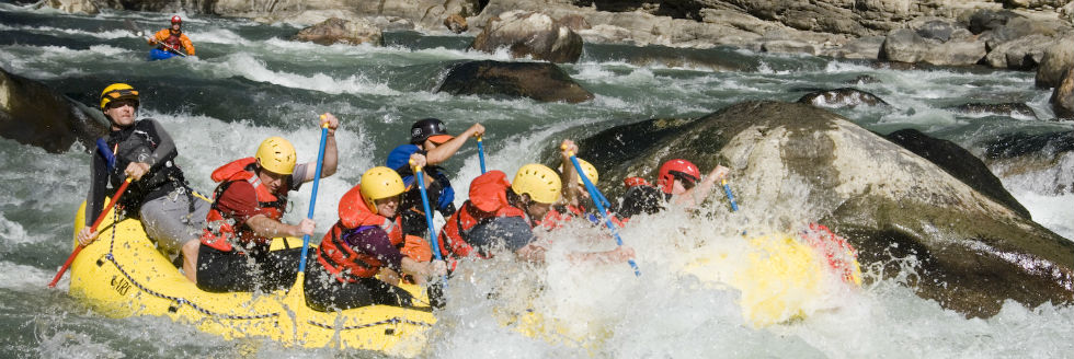 Adventures white water rafting 2