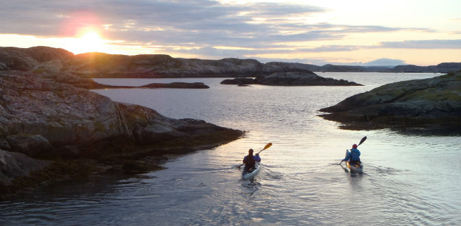 Sweden sea kayak livetheadventure.co